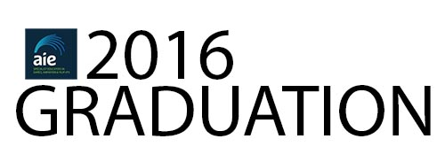 AIE Graduation Awards 2016