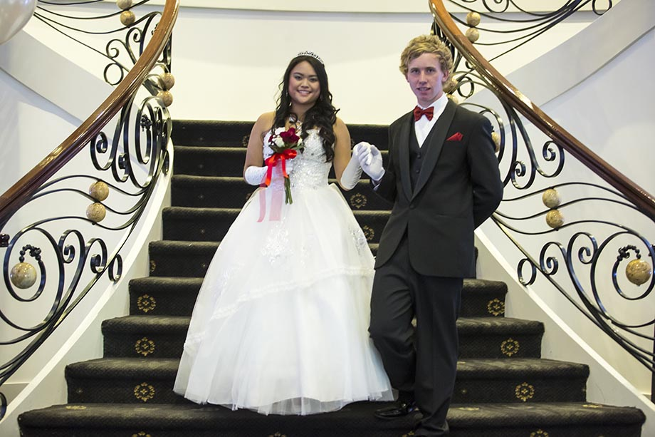 Debutante and partner