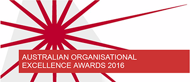 Australian Organisational Excellence Awards 2016