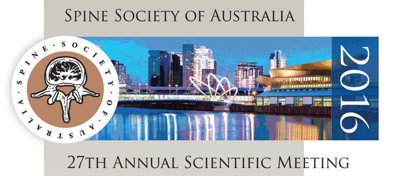 Spine Society Australia 2016 Conference
